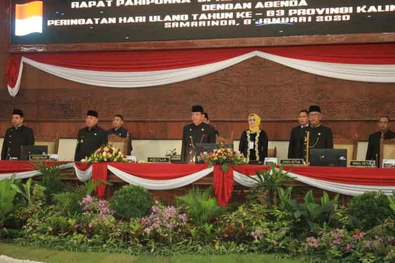 Rapat Paripurna DPRD Kaltim. Gubernur Isran Tegaskan Momen Sinergi Membangun Benua Etam