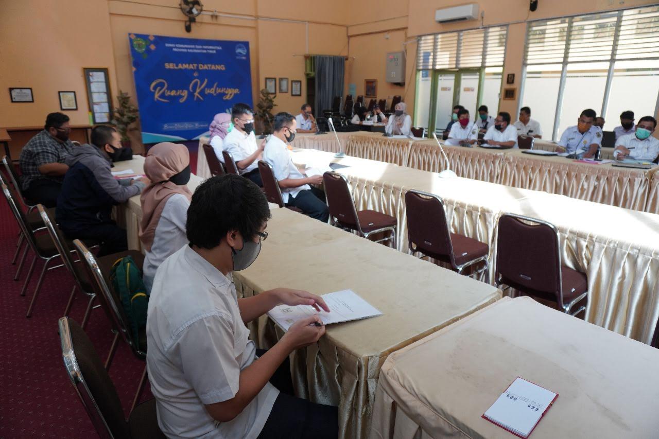 Coaching Clinic SIDIK PPID Pembantu di Lingkungan Pemerintahan Provinsi Kalimantan Timur