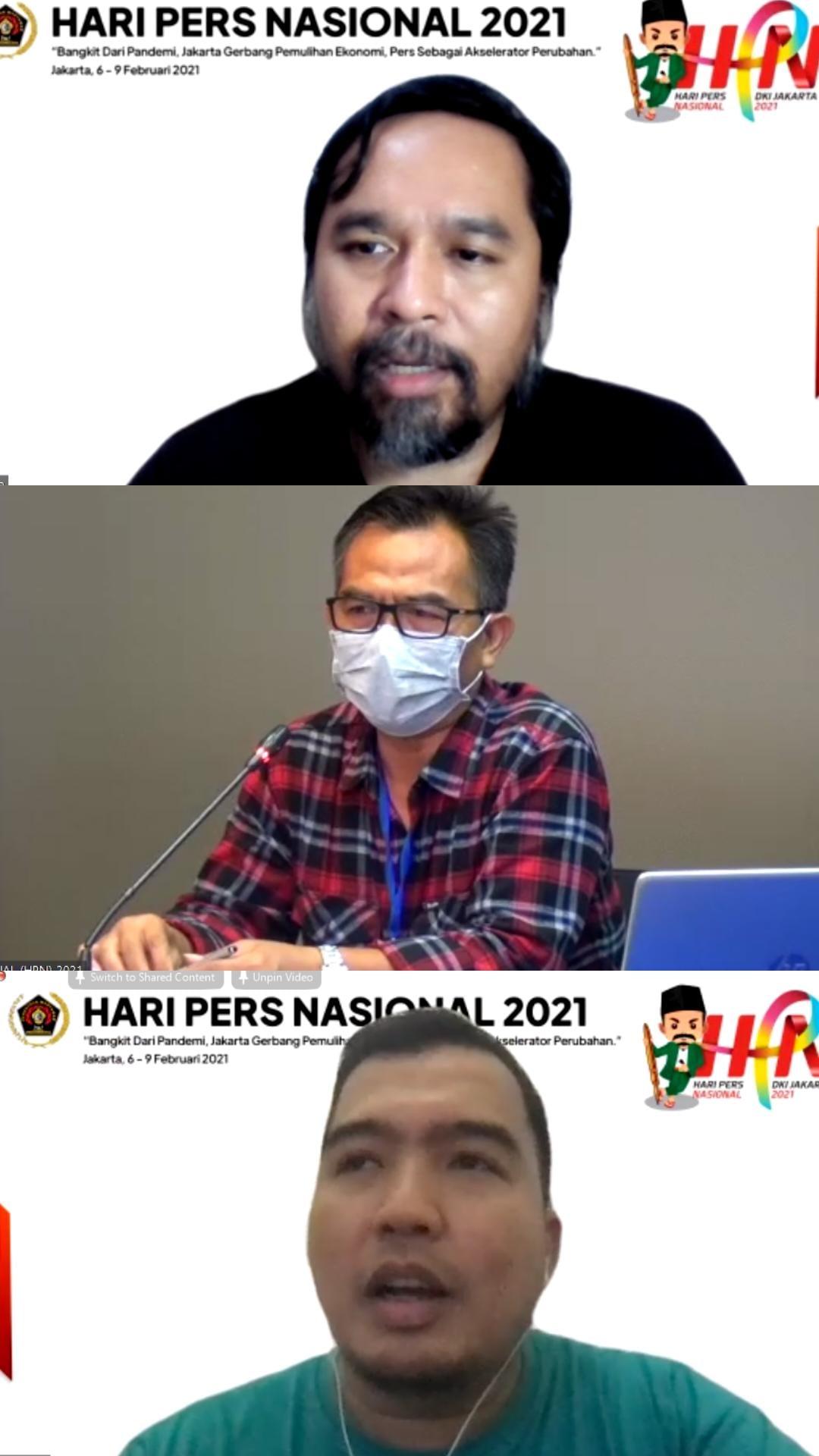 Jelang Hari Pers Nasional, PWI Pusat Gelar Webinar Literasi Digital