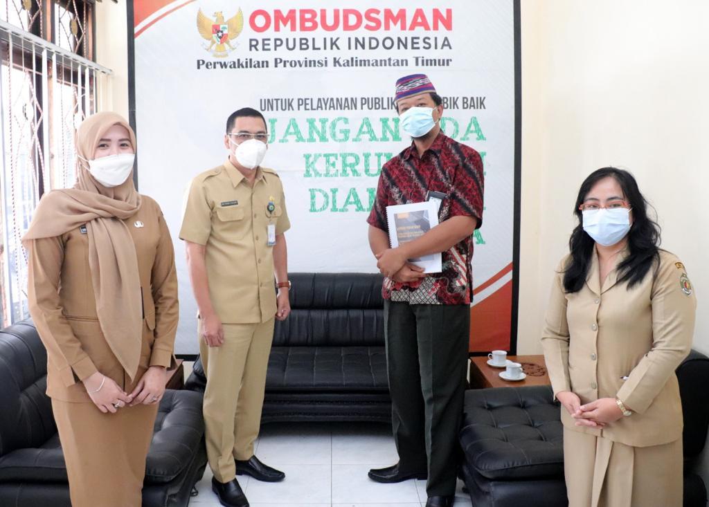 Serius Kembangkan Portal Pengaduan, Faisal Konsultasi Ke Ombudsman Kaltim