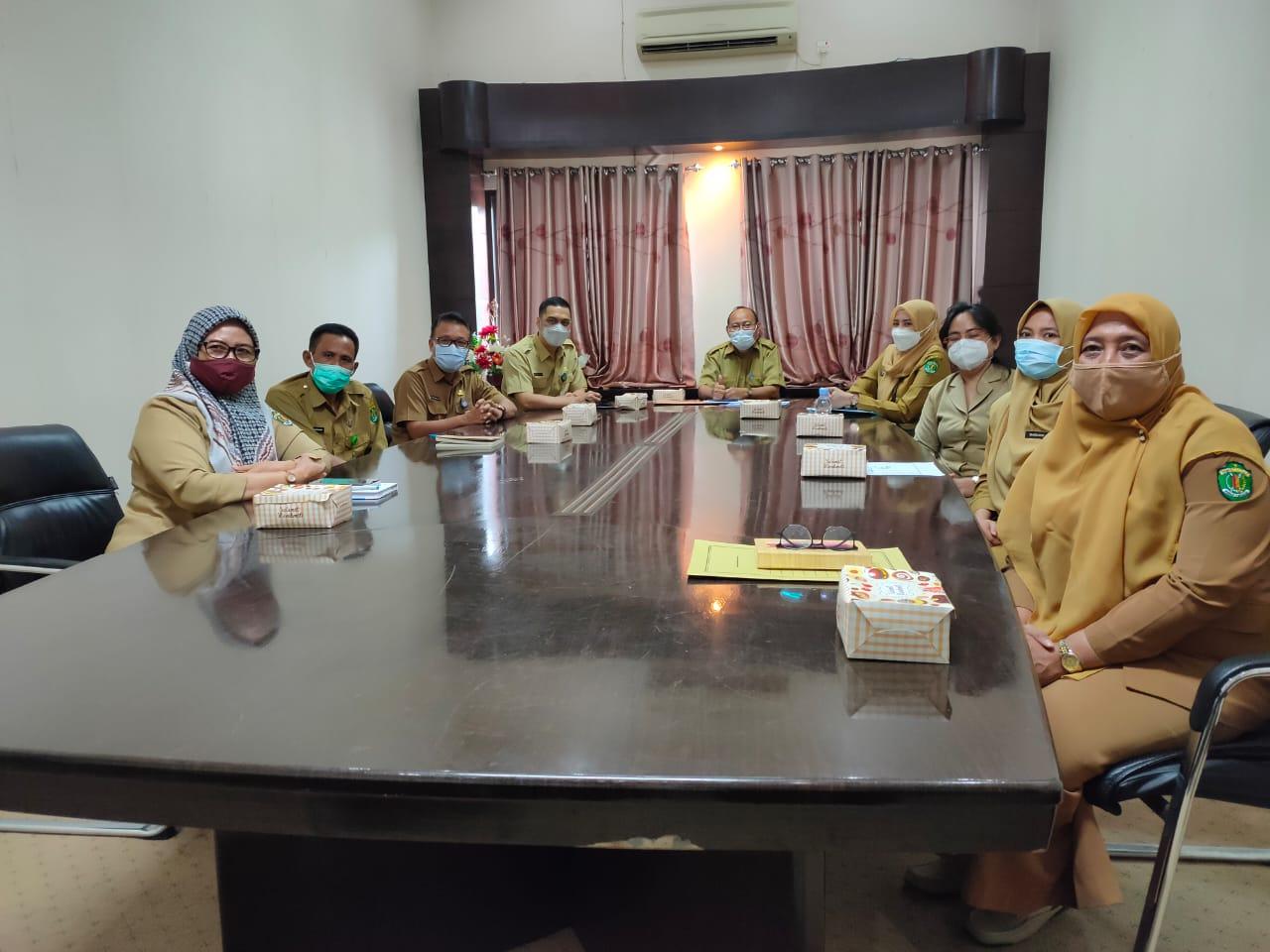Dikunjungi PPID Utama Disnakertrans Kaltim Segera Bentuk PPID Pembantu